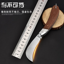 цены Tactical 55HRC Hardness 3Cr13 Blade Pear Tree Wood Handle Folding Knife Outdoor Hunting Camping Survival Tool