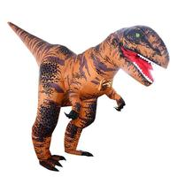 Inflatable T Rex Costumes Dinosaur Dress Adult Kids Men Women Blowup Animal Cosplay Outfits Clothes Halloween Scary Festival