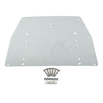 Motorcycle Tour Pak Pack Trunk Of Metal Base Plate For Harley Touring Electra Glide Ultra Classic FLT FLHT FLHTCU FLHR 1993-13