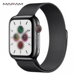 MAFAM gorąca sprzedaży IWO 12 pro Smartwatch śledzenie aktywności aparat ekg do mierzenia tętna serca dla Xiaomi iphone android pk IWO 8 IWO 9 w Inteligentne zegarki od Elektronika użytkowa na