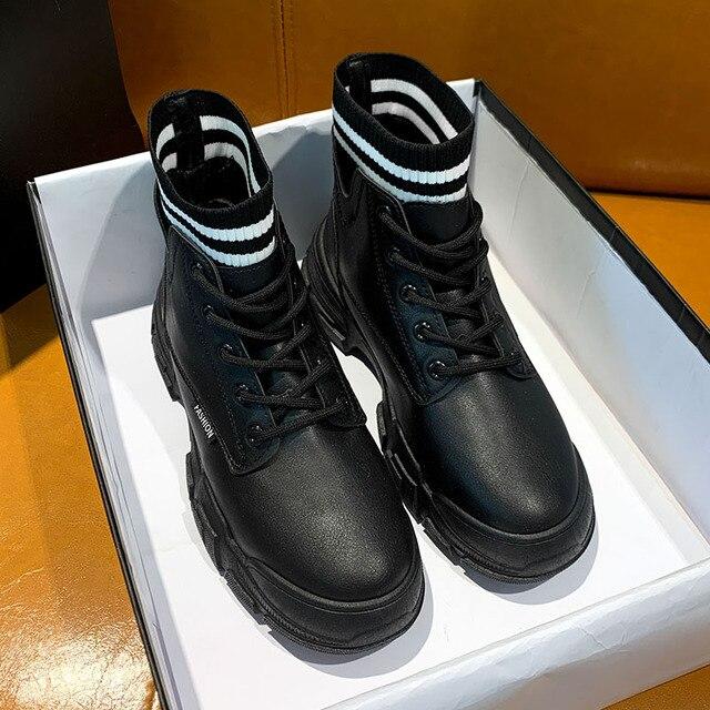 Фото ботинки martin локомотивные короткие ботинки средней длины из