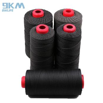 цена на Black Kevlar Braided 50lb-2000lb Fishing Line Cut-Resistance for Outdoor Camping Hiking Kite Flying String Camping Cord