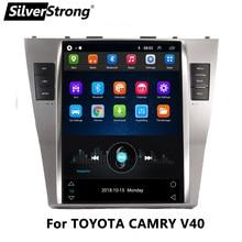 10.4 IPS,Tesla Android, araba GPS Navi, TOYOTA CAMRY V40 2007 2011, bluetooth, multimedya, fit oto AC sadece