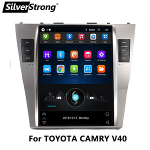 SilverStrong 10.4'' IPS Tesla Android Car GPS Navi for TOYOTA CAMRY V40 2007-2011 2GB+32GB Bluetooth Multimedia