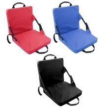 Внутреннее и наружное складное кресло с подушкой сиденье для