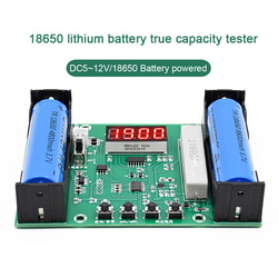Battery Capacity Tester MAh MWh for 18650 Lithium Battery Digital Measurement Lithium Battery Detector Module