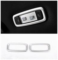 Chrome Rear Luz Cúpula de Tecto tirm Tampa Quadro Para BMW X4 G02 X3 G01 5 7 Series