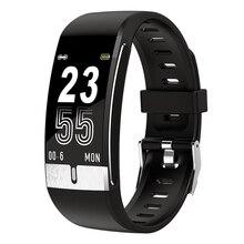 E66 Fitness Tracker Bracelet Body Temperature Smart Bracelet Heart Rate Monitor