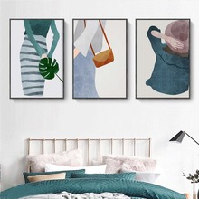 New Wall Art Pictures Canvas Painting Wall Poster Decoration For Living Room Prints Abstract People On Canvas No Frame Home Gift canvas painting wall art pictures prints colorful woman on canvas no frame home decor wall poster decoration for living room