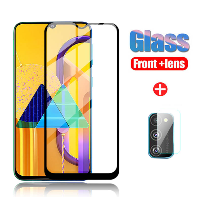 2pcs 3D Protective Glass For Samsung Galaxy M30S A30 A30S Camera Glass Protector On For Samsun A305 A 30 M 30s Safety Front Film