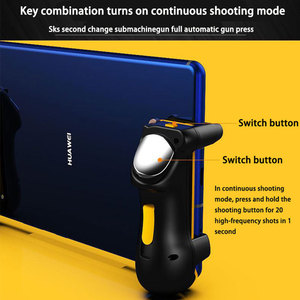 Image 5 - PUBG Ipad Trigger Controller Capacitance L1R1 Fire Aim Button Gamepad Joystick For Ipad Tablet Phone FPS Game Accessories