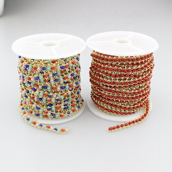 10m 1roll/lot New design rosary chain,handmade diy fashion jewelry accessories chain,10meter per roll high quality chain