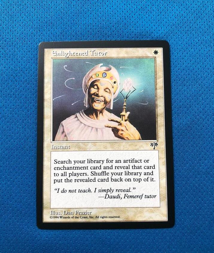 Enlightened Tutor	Mirage(MIR) Magician ProxyKing 8.0 VIP The Proxy Cards To Gathering Every Single Mg Card.