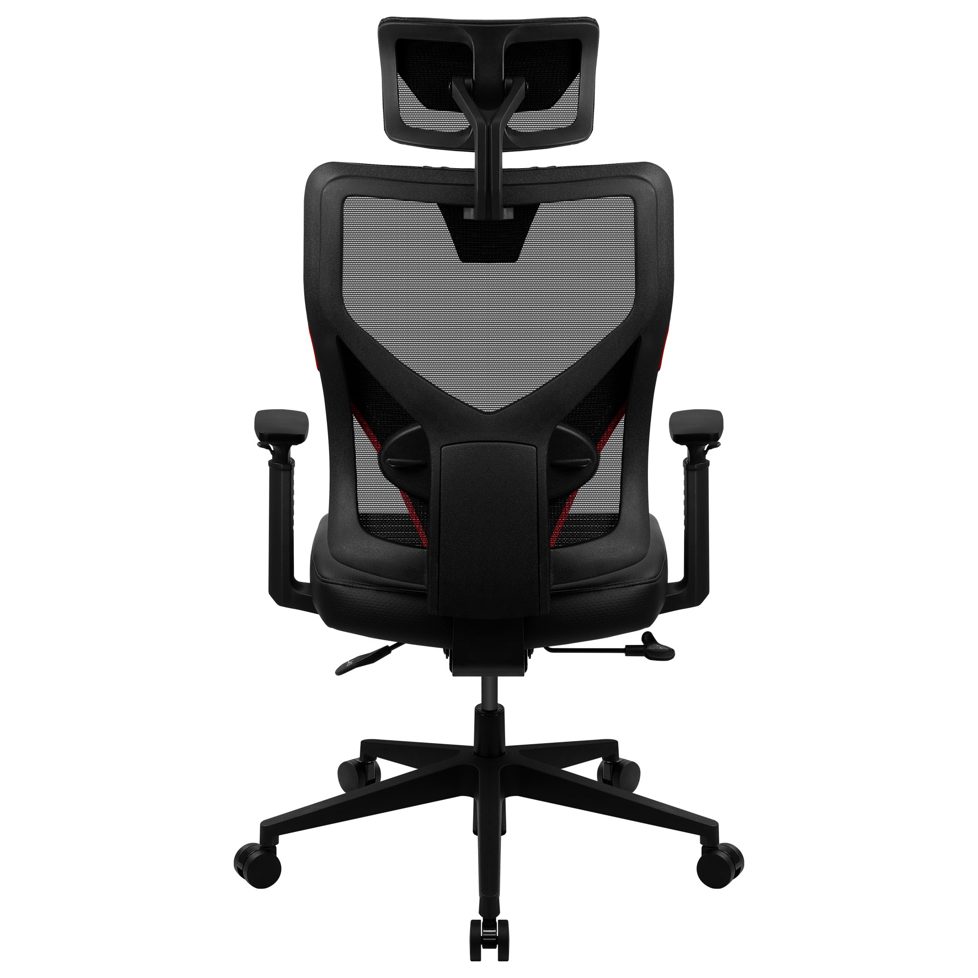 ThunderX3 Yama 1, Gaming Chair, Technology AIR, Desk Ergonomic And Breathable, Red
