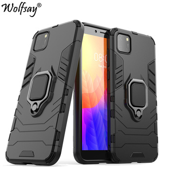 For Huawei Honor 9S Case Shockproof Armor Magnetic Suction Stand Full Edge Cover For Honor 9S Case Cover For Honor 9S 5.45 inch 9s