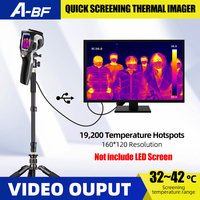 A BF DT 980Y Infrared Thermal Imager Medical Infrared Thermometer Laser Digital Human Body Thermal Camera Video TV HDMI