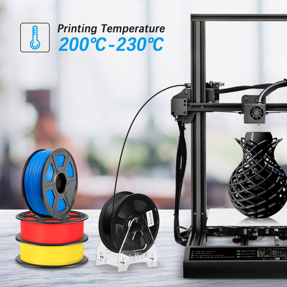 lowest price SUNLU PLA PLA 3D Printer Filament new Pollution-free material 1 75mm 1kg 2 2lbs with full color and top quality DIY 3d printing