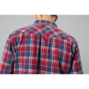 Image 2 - SIMWOOD 2020 Autumn winter new plaid shirts men casual check double pocket high quality 100% cotton shirt  190459