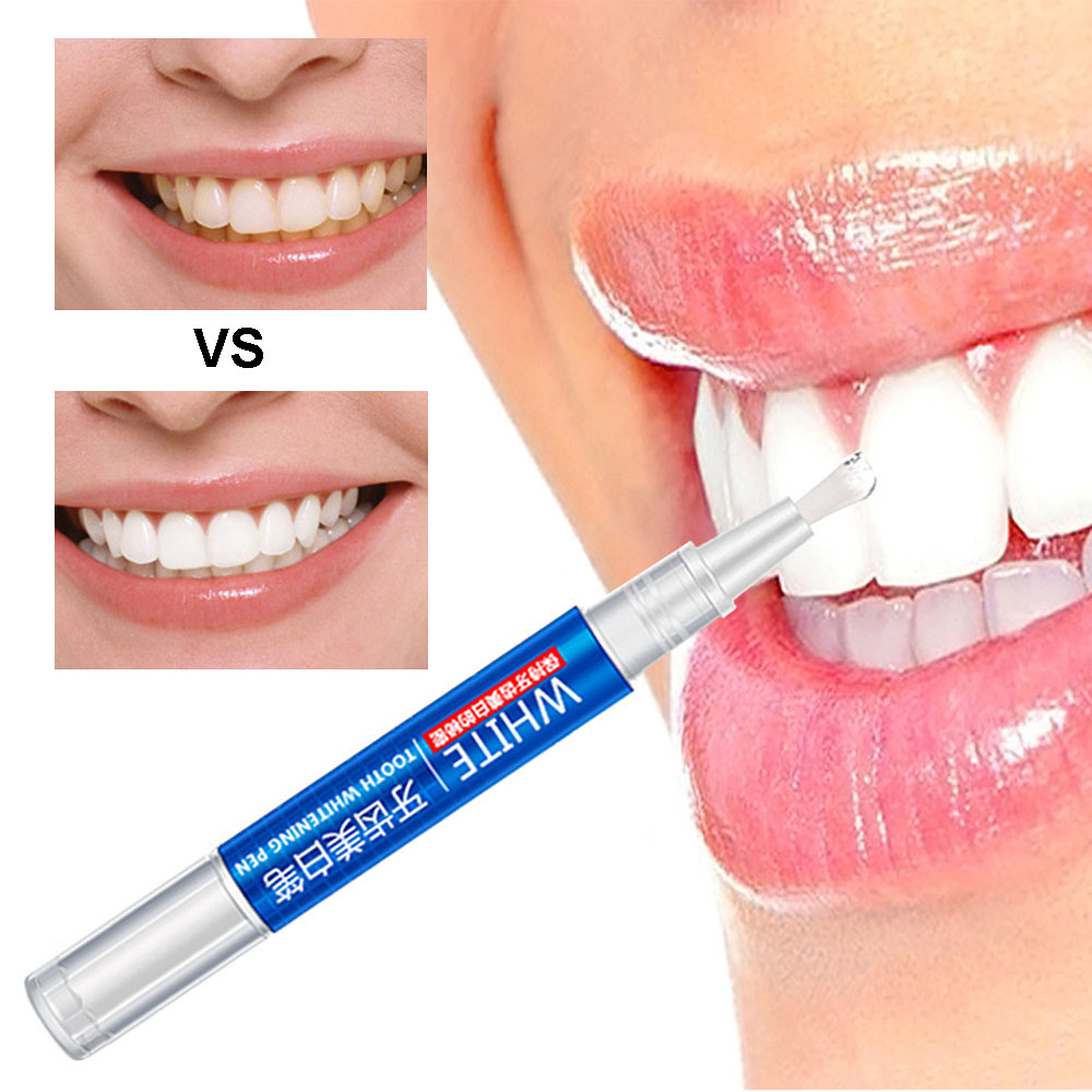 Teeth Whitening Pen Cleaning Beauty Clean Tooth Pen Oral Hygiene Removes Plaque Stains Bad Breath Dental Tool