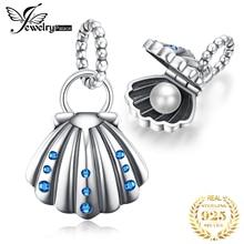 JewelryPalace перлы раковины стерлингового серебра 925 бусины подвески оригинальный браслет оригинальный изготовление ювелирных изделий