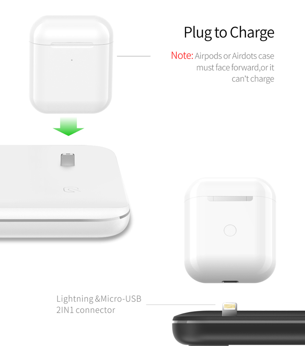 NYFundas 15W Wireless Charger stand Dock Station For Apple Watch Series 4 3 2 Iwatch Iphone XS MAX XR 8+ Airpods Fast Charging  (6)