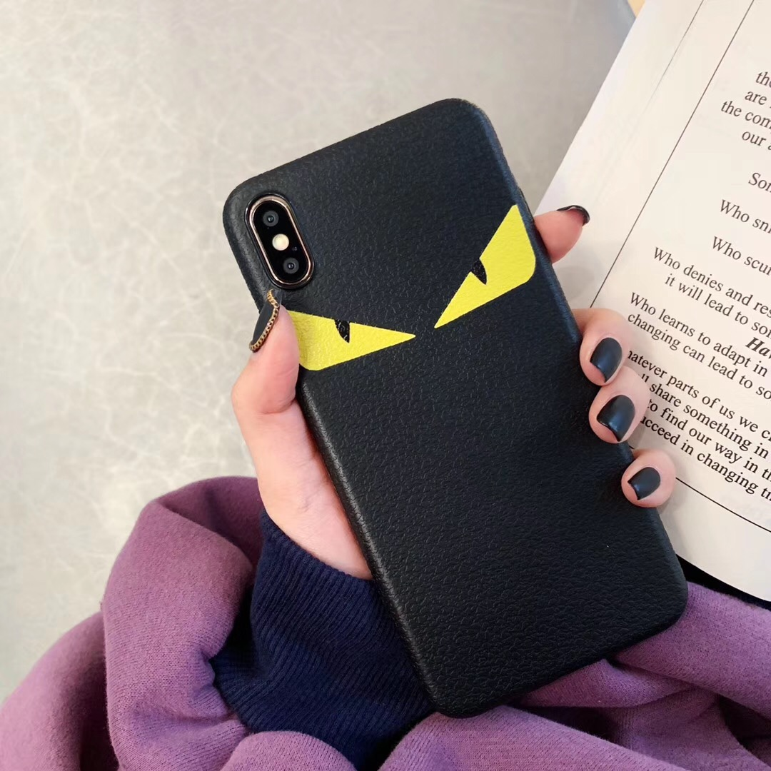 Demon Eye Soft <font><b>Case</b></font> For <font><b>Iphone</b></font> X Xs 11 Pro Max Xr 8 7 <font><b>6</b></font> 6s Plus Phone Cover Luxury 3d Pattern Silicon Fashion Italy Luxury Coque image