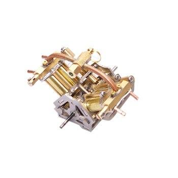 90X85X70 millimetri Mini V4-Steam Motore In Miniatura Modello di Motore A Vapore Senza Caldaia