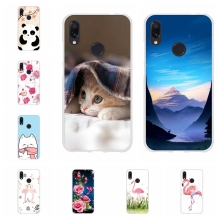 For Xiaomi Redmi 3 3s Case Soft TPU Silicone Note 4 4X 7 Pro Cover Butterflies Pattern Go Capa