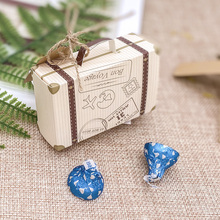 wedding gift candy packaging carton 2017 european creative sugar box wedding celebration products candy box cb5139 100 pcs Creative Mini Suitcase Candy Box Candy Packaging Carton Wedding Gift Box Event Party Supplies Wedding favors with Card
