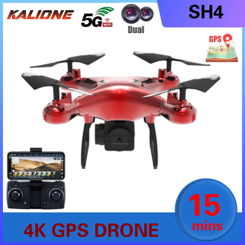 SH4 GPS Drone with Camera HD 4K 1080P 5G Wifi FPV Professional Quadcopter RC Dron Helicopter drones Toys For Kids Boy VS SG907