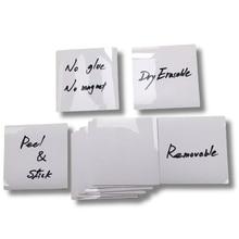 Pad Sticker Waterproof Reusable for Storage-Bins Adhesive-Labels Wipe Bottles-G Dry