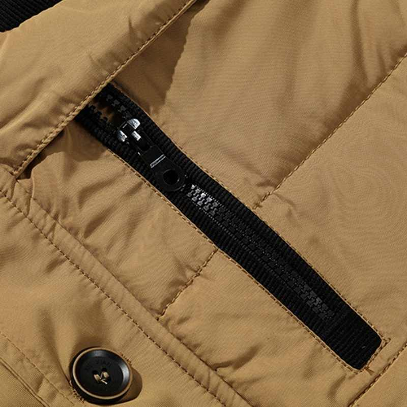 뿌 멘티 우아 2020 뉴 스타일 윈터 자켓 남성 코트 남성 파커 캐주얼 두꺼운 아웃웨어 후드 양털 자켓 웜 오버 코트