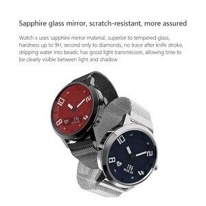 Image 3 - Lenovo Watch Sapphire Mirror OLED Screen Smart Watch Watch X Heart Rate Blood Pressure Test Smartwatch 8TAM Waterproof