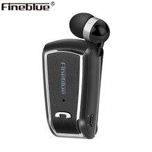 Fineblue F V3 sans fil affaires Bluetooth casque Sport pilote Auriculares écouteur télescopique sur écouteurs stéréo avec micro