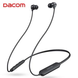 Image 1 - Dacom L03X Bassบลูทูธหูฟังแม่เหล็กหูฟังกีฬากันน้ำหูฟังไร้สายหูฟังพร้อมไมโครโฟนสำหรับIOS Xiaomi