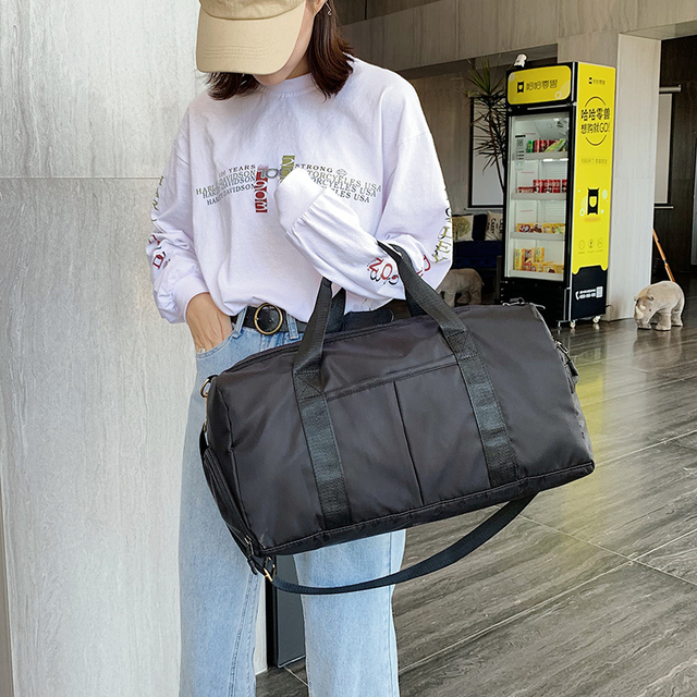 Large Female Bag With Shoe Compartment