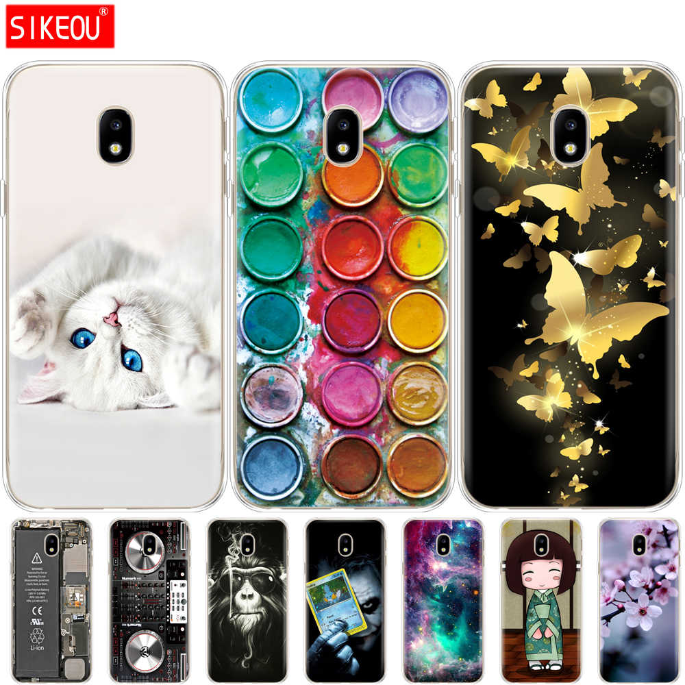 Silicon Case For Samsung Galaxy J3 2017 J330F J3 Pro 2017 Case Soft TPU back phone Cover for Samsung J3 2017 J330 coque bumper