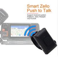 ווקי טוקי 2019 Wireless Bluetooth PTT בקר הדיבורי לחצן ווקי טוקי עבור אנדרואיד Low Energy עבור Zello עבודה (3)