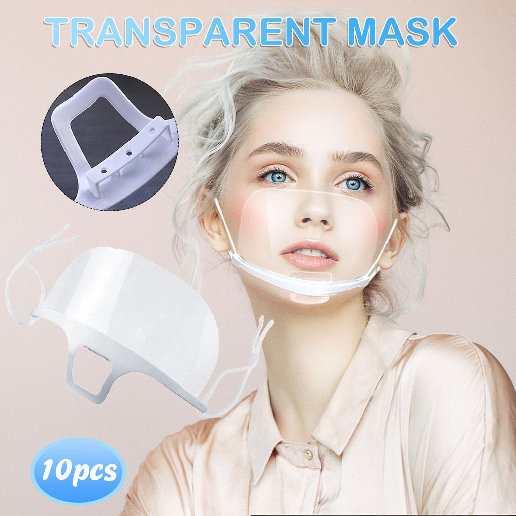 10PCS Reusable Cotton Mouth Face Cover Comfortable Anti-Dust Anti-saliva Anti Infection Anti-droplets Splash-proof Windproof