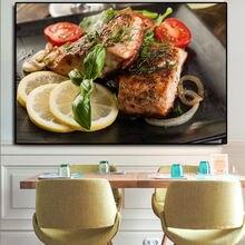 Картина на холсте для барбекю зерна специй овощей кухни приготовления