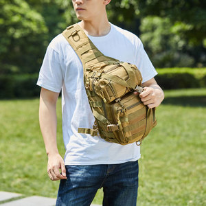 Image 2 - Tactical Assault Backpack Military Army Molle Bag Waterproof Hiking Rucksacks Sling Pack for Outdoor Sports Camping Hunting 20L