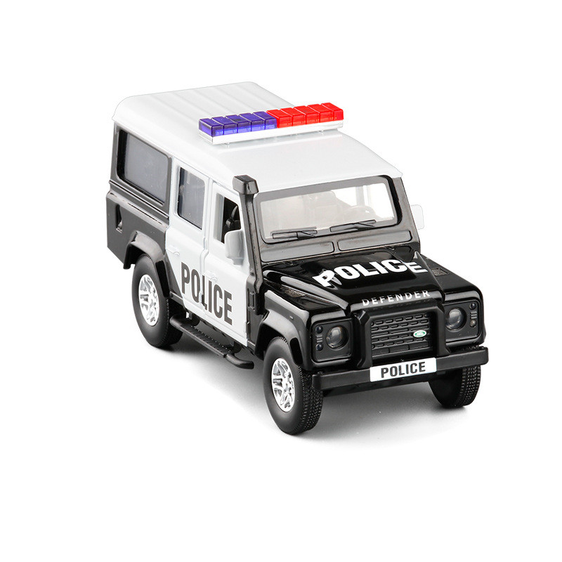 Hot 1:36 Defender SUV Alloy Model,simulation Die-cast Pull Back Off-road Model Car,children's Toys Gifts,free Shipping