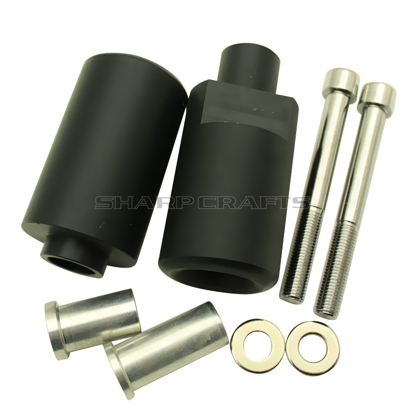 Image 2 - Motorcycle Parts No Cut Frame Sliders Crash Falling Protection Pad For SUZUKI GSXR600 GSXR750 GSXR 600 750 K4 2004 2005 GSX RCovers & Ornamental Mouldings   -
