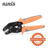 As ferramentas de crimpagem da IWISS funcionam em mini conectores XH2.0mm XH2.54mm XH3.96mm Terminais D-Sub Dupont JST Crimper de pinos SN-01BM Ferramentas de crimpagem para alicate de crimpagem para AWG 28-20