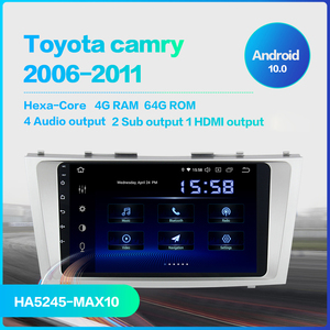"Image 2 - Dasaita 9"" Car Android 10.0 Autoradio for Toyota Camry 2006 2007 2008 2009 2010 2011 GPS Navigation 1080P Video Stereo 64GB ROM"