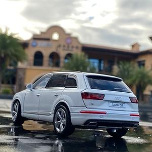 1:32 AUDI Q7 SUV литой автомобиль и игрушечные автомобили, игрушечный автомобиль, коллекционная металлическая модель автомобиля, модель высокой имитации игрушек для детей|Наземный транспорт|   | АлиЭкспресс