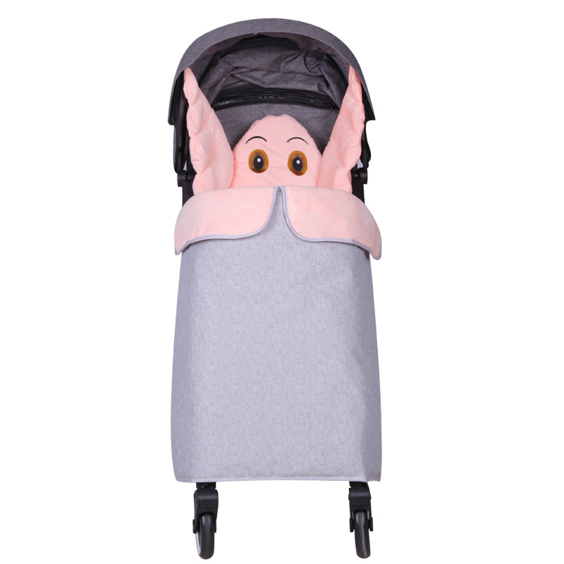 Universal Baby Stroller Footmuff Cover Windproof Warm Padded Buggy Toes Apron UK