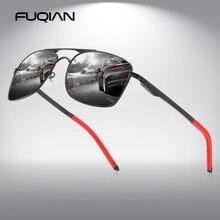 Fuqian 2020 квадратные мужские солнцезащитные очки поляризованные