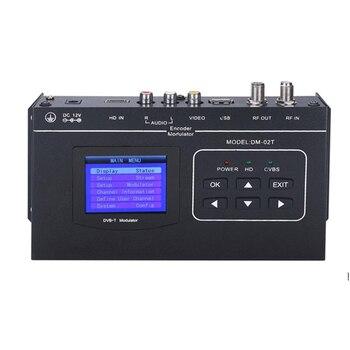 1080P HDMI/CVBS to DVB-T encoder modulator Digital TV Headend QAM RF Modulator dvb-t digital modulator DM-02TH DVB-TCOFDM