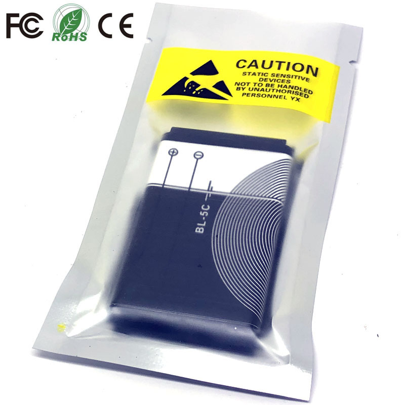 BL-5C 1020mah For <font><b>Nokia</b></font> 1112 1208 1600 n71 1100 1200 <font><b>1650</b></font> 2300 2310 2600 2610 3100 3120 3650 5130 6030 6600 6263 6230 Battery image